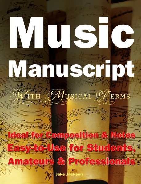 Music Manuscript With Musical Terms by Flame Tree Publishing