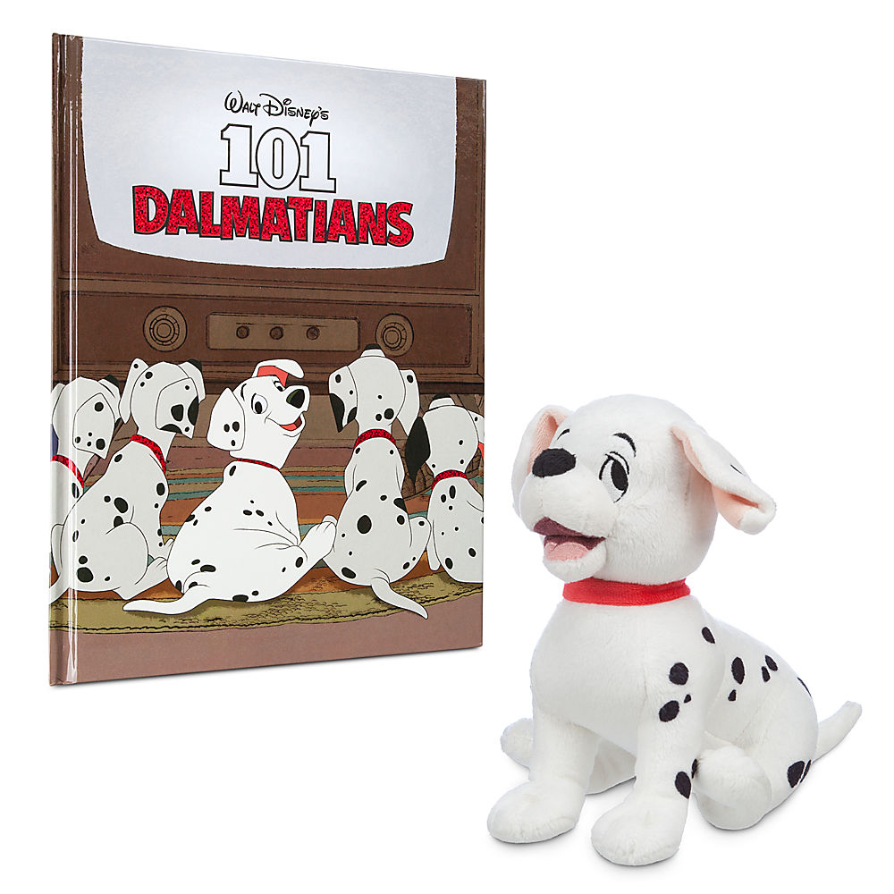 Disney 101 Dalmatians Story Book And Special Edition Rolly Plush