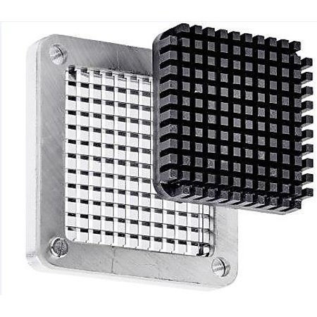 0.25 Slice - Winco HCD-250BK, 0.25-Inch Replacement Blade and Block for HCD-Series Quick Slice Dicer, Fruit and Vegetables Cutter Interchangable Blade Block Set