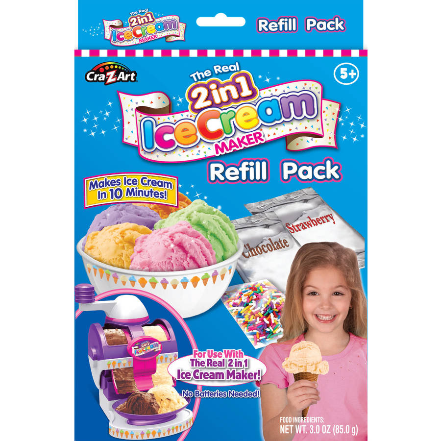 Cra-Z- Art Ice Cream Maker Refill by