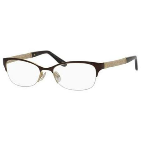 JIMMY CHOO Eyeglasses 106 0F62 Matte Brown 52MM