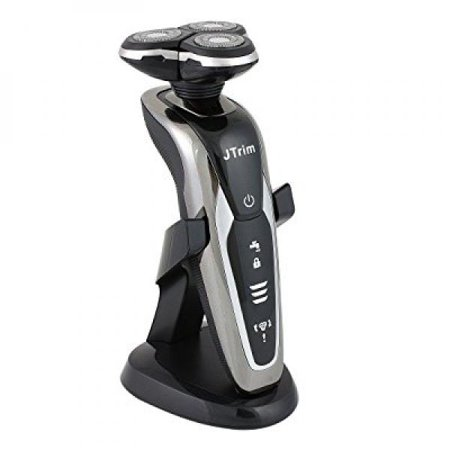 Electric Shaver For Men By JTrim 3DFLEX Wet dry System Cordless Rotary  Shavers Electric Razor With Sideburns Nose Hair Trimmer JPT-GF300/23 Jay's