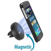 WizGear Universal Air Vent Magnetic Car Mount Holder, for Cell Phones and Mini Tablets with Fast Swift-Snap Technology, Magnetic Cell Phone Mount, Car Mount for iPhone 6