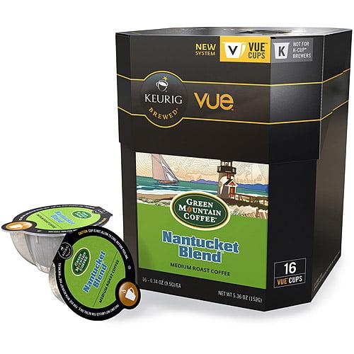 Green Mountain  Vue Packs, Nantucket Blend, 16/Box -GMT9301