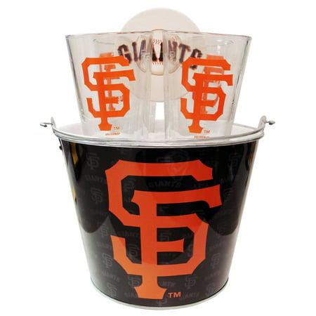 Boelter Brands MLB Gift Bucket Set, San Francisco Giants Baseball Gift Baskets