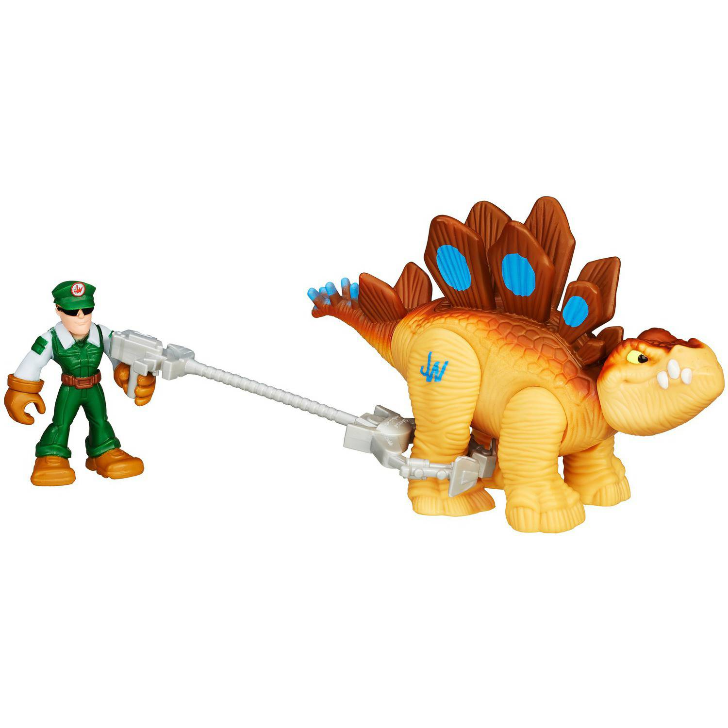 Playskool Heroes Jurassic World Tracker Stegosaurus Figure by Hasbro