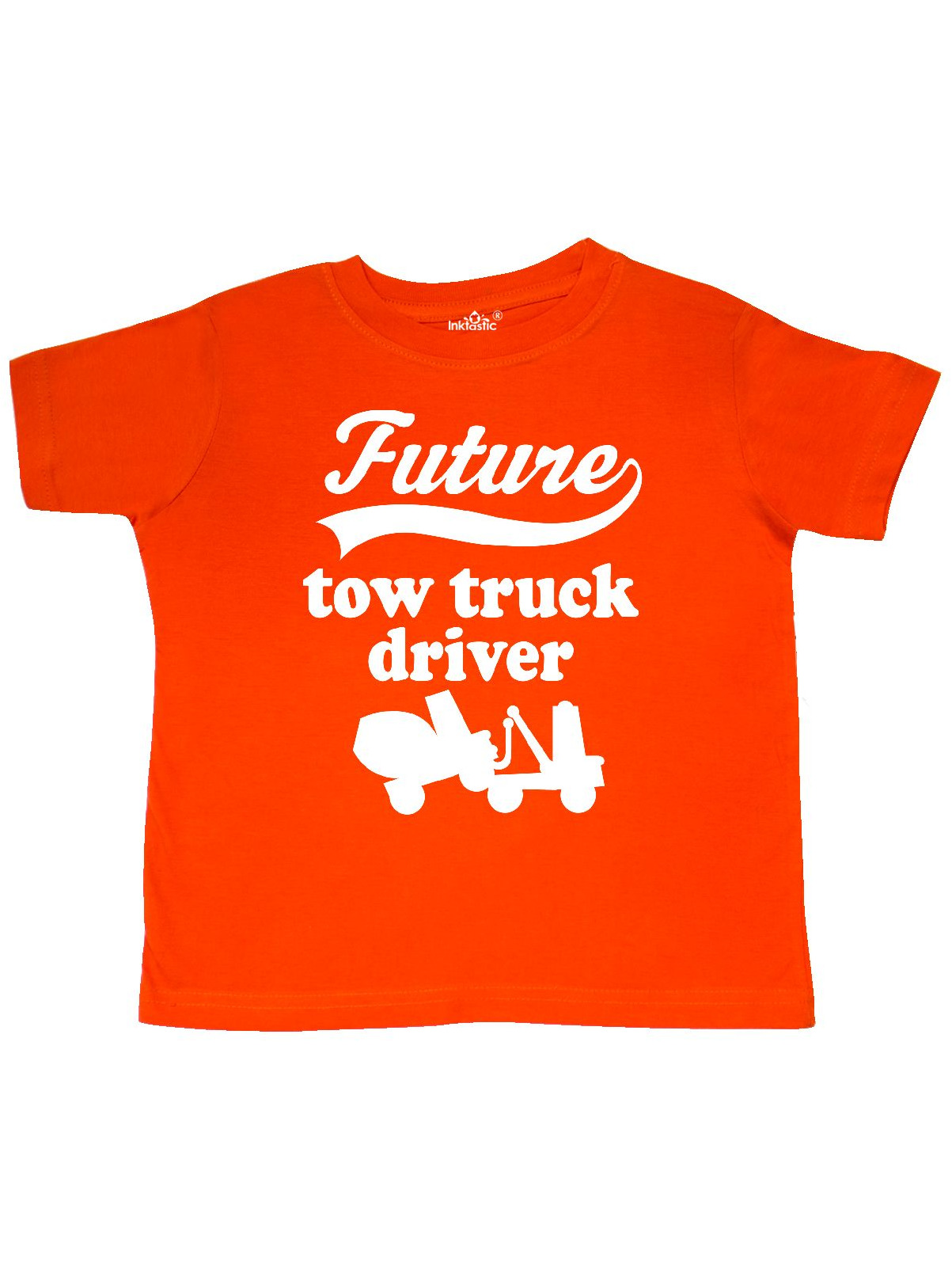 Future Tow Truck Driver Childs Gift Toddler T-Shirt