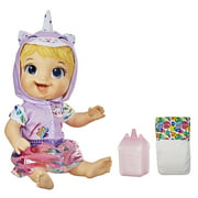 Baby Alive Tinycorns Doll, Unicorn, Drinks & Wets, for Kids Ages 3 and Up