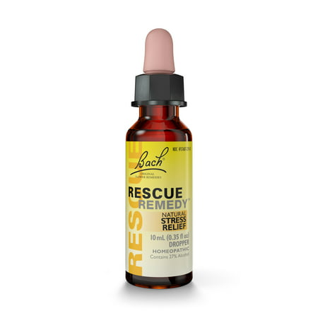 - Rescue Remedy Natural Stress Relief Dropper, 10 mL