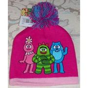 Beanie Cap - Yo Gabba Gabba - Pom-Pom Anime Hat Licensed etyg6017