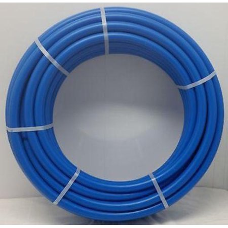 1' - 1000' coil - BLUE Certified Non-Barrier PEX Tubing Htg/PLbg/Potable (Non Kink Tubing)