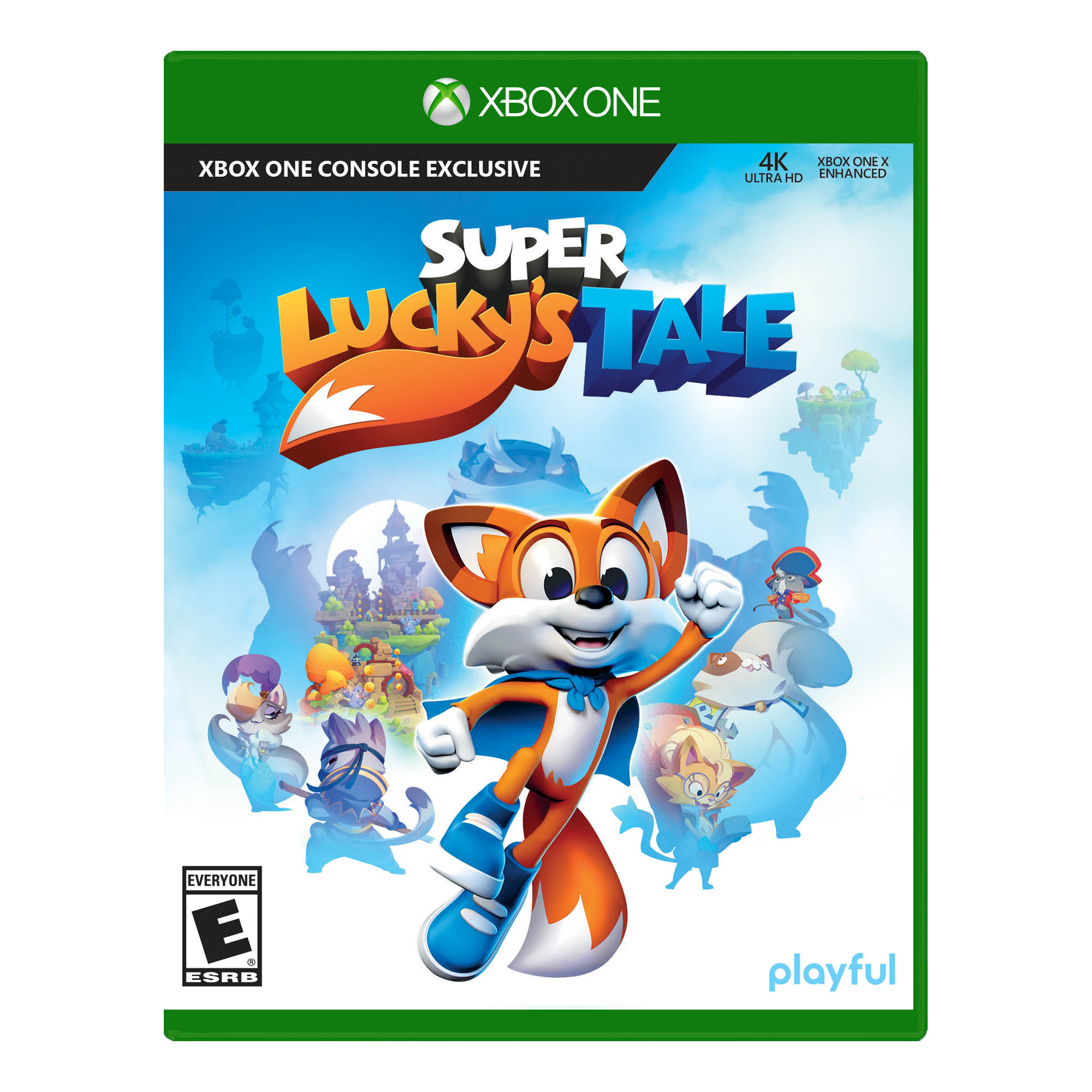Super Lucky's Tale, Microsoft, Xbox One, 889842216295