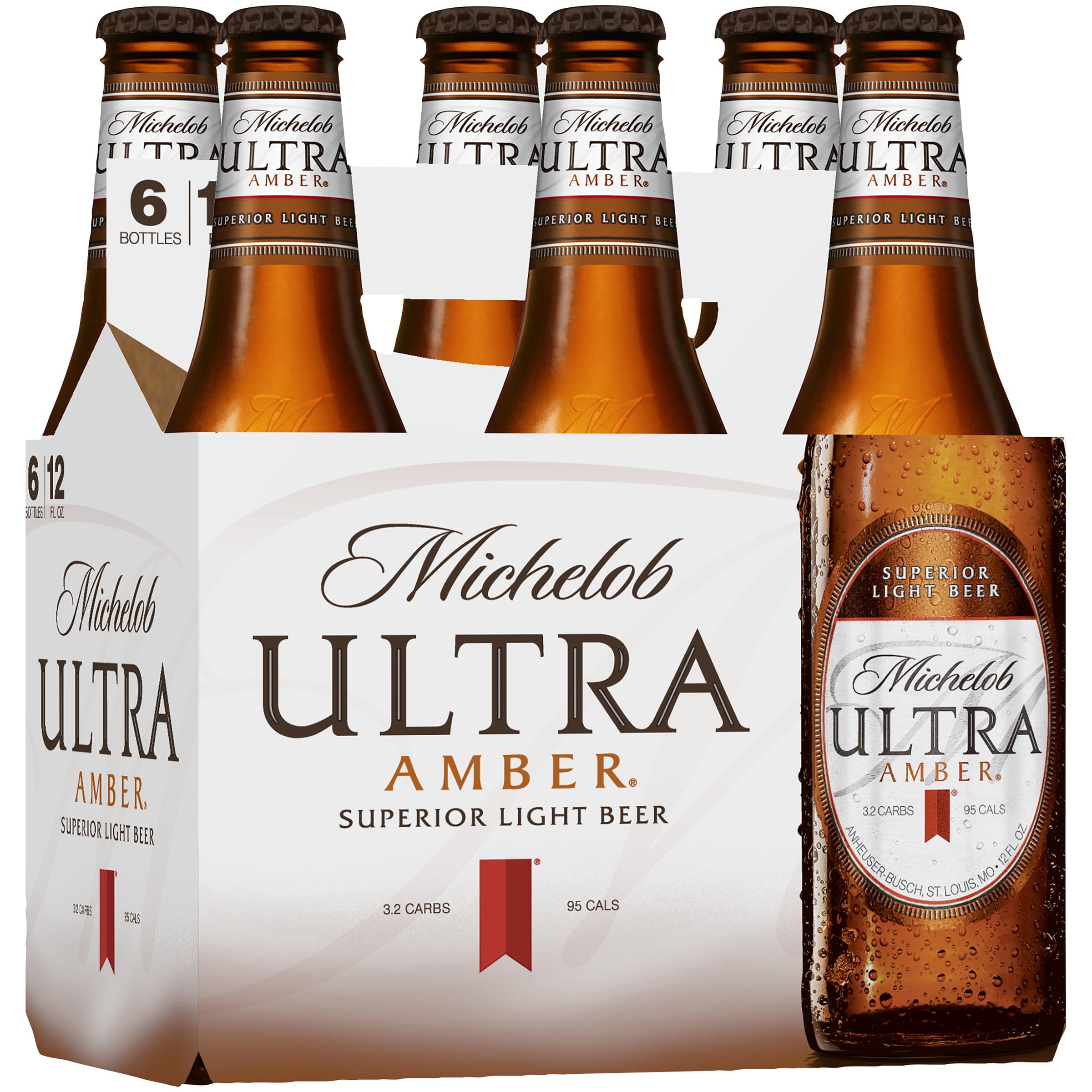 Michelob Ultra Amber Lager 6 Pk 12 Fl Oz Bottles