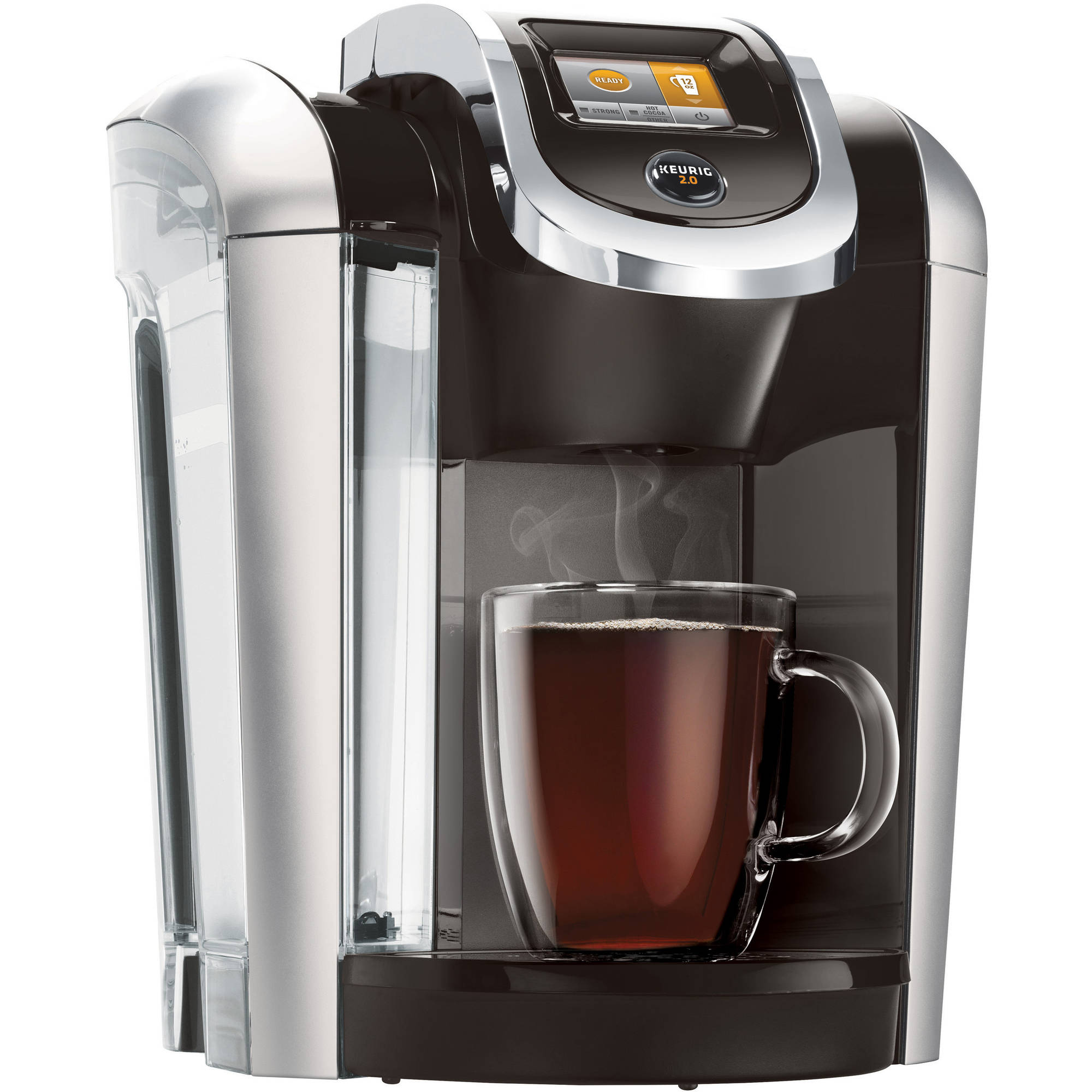 New keurig hot 2 0 k425 plus coffee maker black ebay New coffee machine