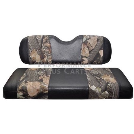 Club Car Precedent Golf Cart Front Seat Cover Camo And Black