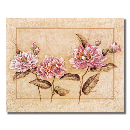 Camellia Flowers Floral Arrangement Wall Picture 8x10 Art Print