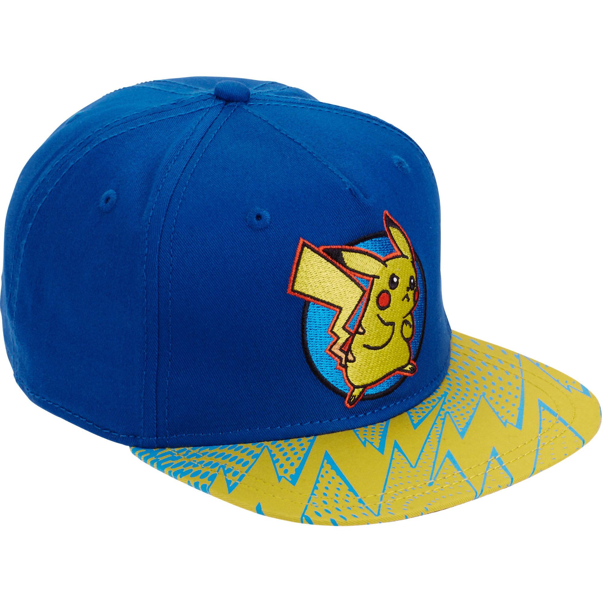 Pokemon Boy Hat Blue