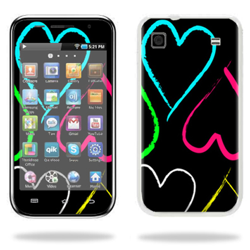 Mightyskins Protective Vinyl Skin Decal Cover for Samsung Galaxy Player 4.0 MP3 Player wrap sticker skins Hearts