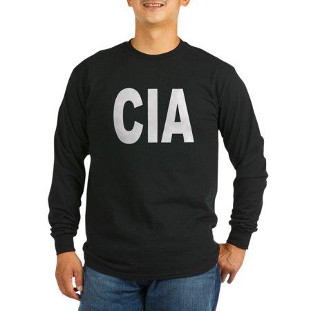 Cafepress   Cia Central Intelligence Agen Long Sleeve Dark T S   Long Sleeve Dark T Shirt