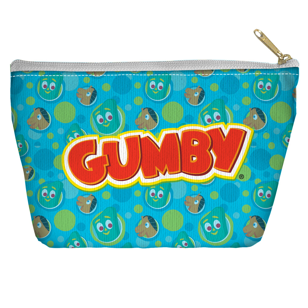 Gumby Best Friends Accessory Pouch White 8.5X6