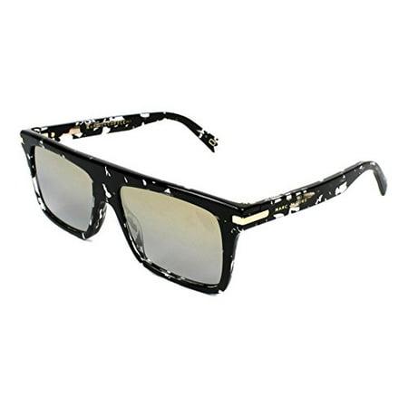 Black Havana Sunglasses - Sunglasses Marc Jacobs Marc 186 /S 09WZ Havana Black Crystal / 9F ltgray goldvsp lens