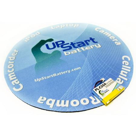 2x Pack - Plantronics 6432701 Battery - Replacement for Plantronics CS50 Headset Battery (250mAh, 3.7V, Lithium Polymer) - image 1 de 3