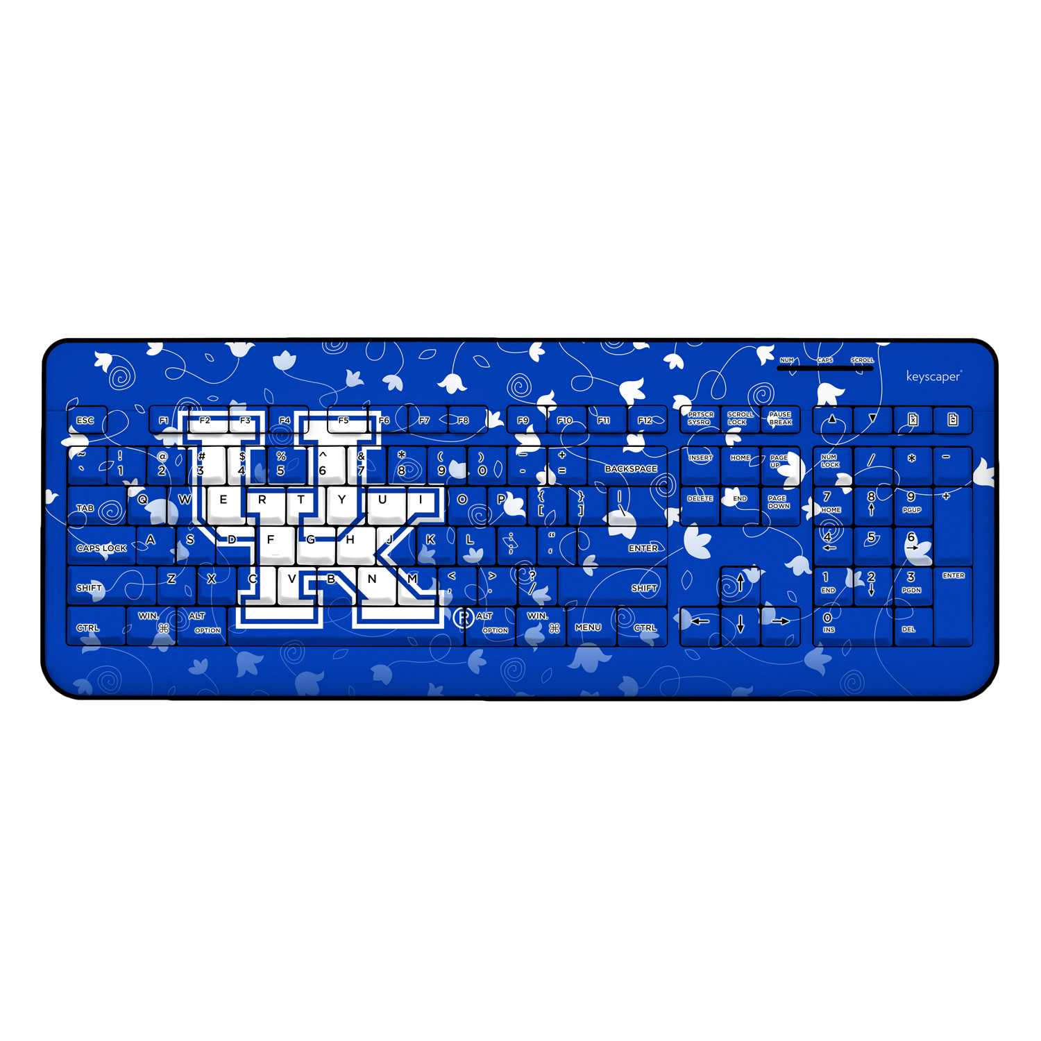 Kentucky Wildcats Wireless USB Keyboard NCAA