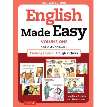 English Made Easy Volume One : A New ESL Approach: Learning English Through Pictures - A Halloween Story Esl