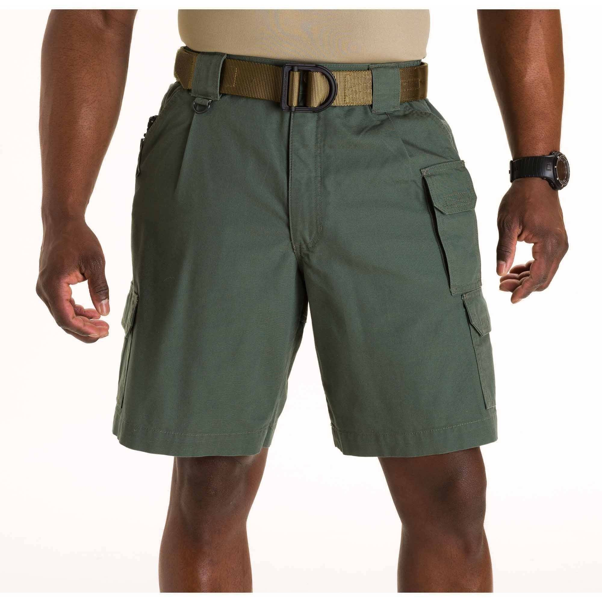 Men's Cotton Tactical Shorts, OD Green