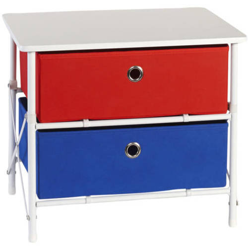 RiverRidge Kids Sort and Store 2-Bin Organizer, Jewel Colors by Sourcing Solutions, Inc.