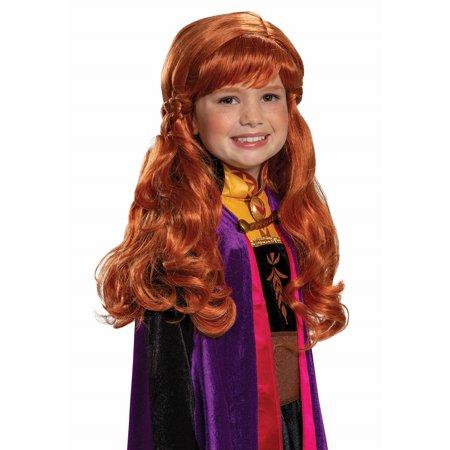 Anna Frozen 2 Girls Wig - image 1 de 1