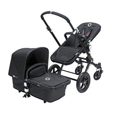 bugaboo cameleon3 complete stroller - black - black