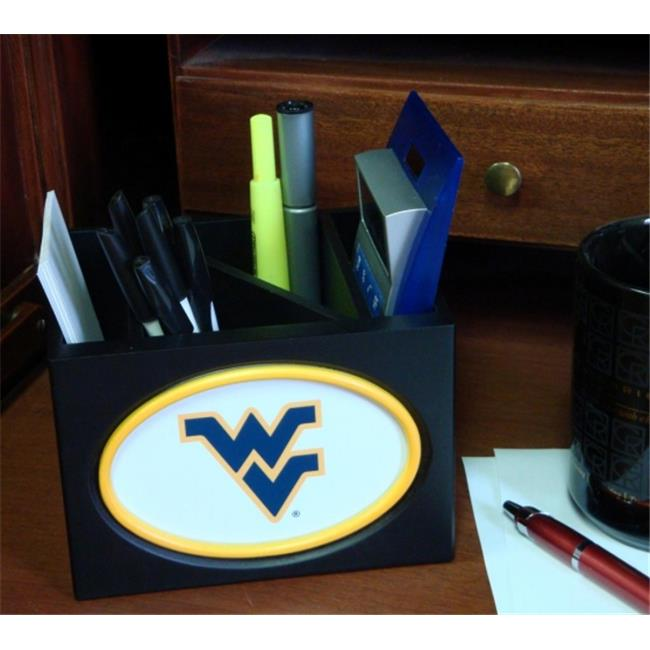 Adventure Furniture C0536-West Virginia West Virginia University Desktop Organizer