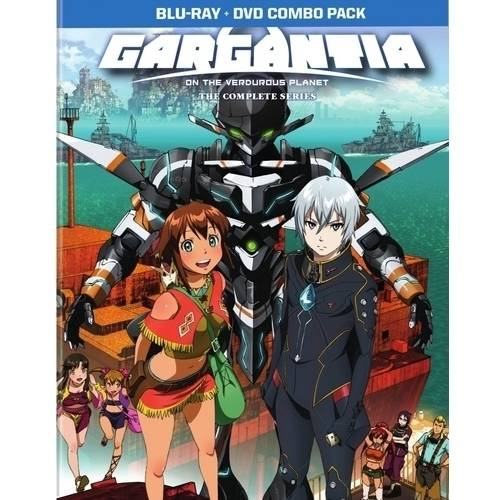 Gargantia: On The Verdurous Planet: The Complete Series (Limited Edition) (Blu-ray + DVD) VIZBR497920