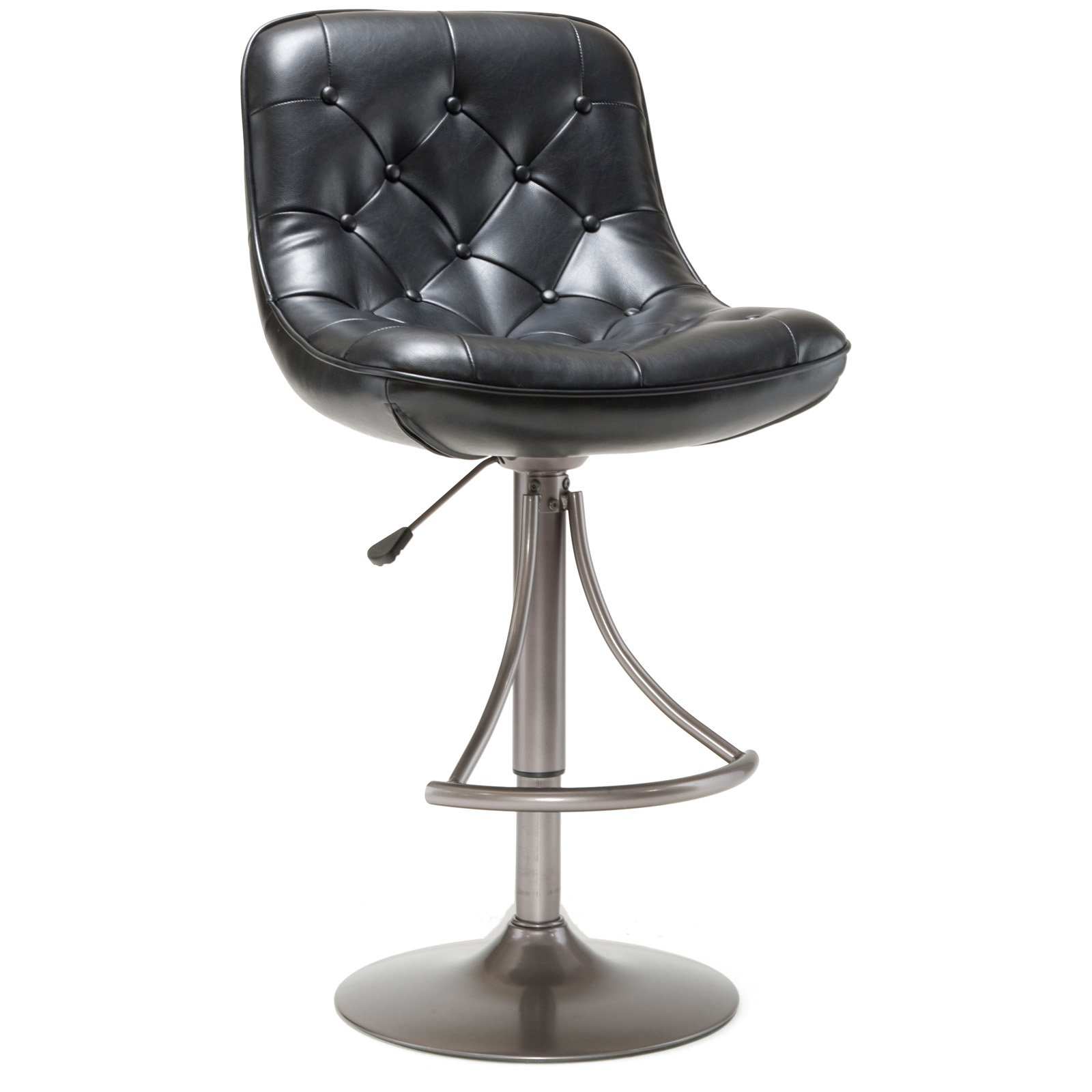 Hillsdale Furniture Aspen Adjustable Bar Stool, Oyster Gray Finish by Hillsdale Furniture LLC