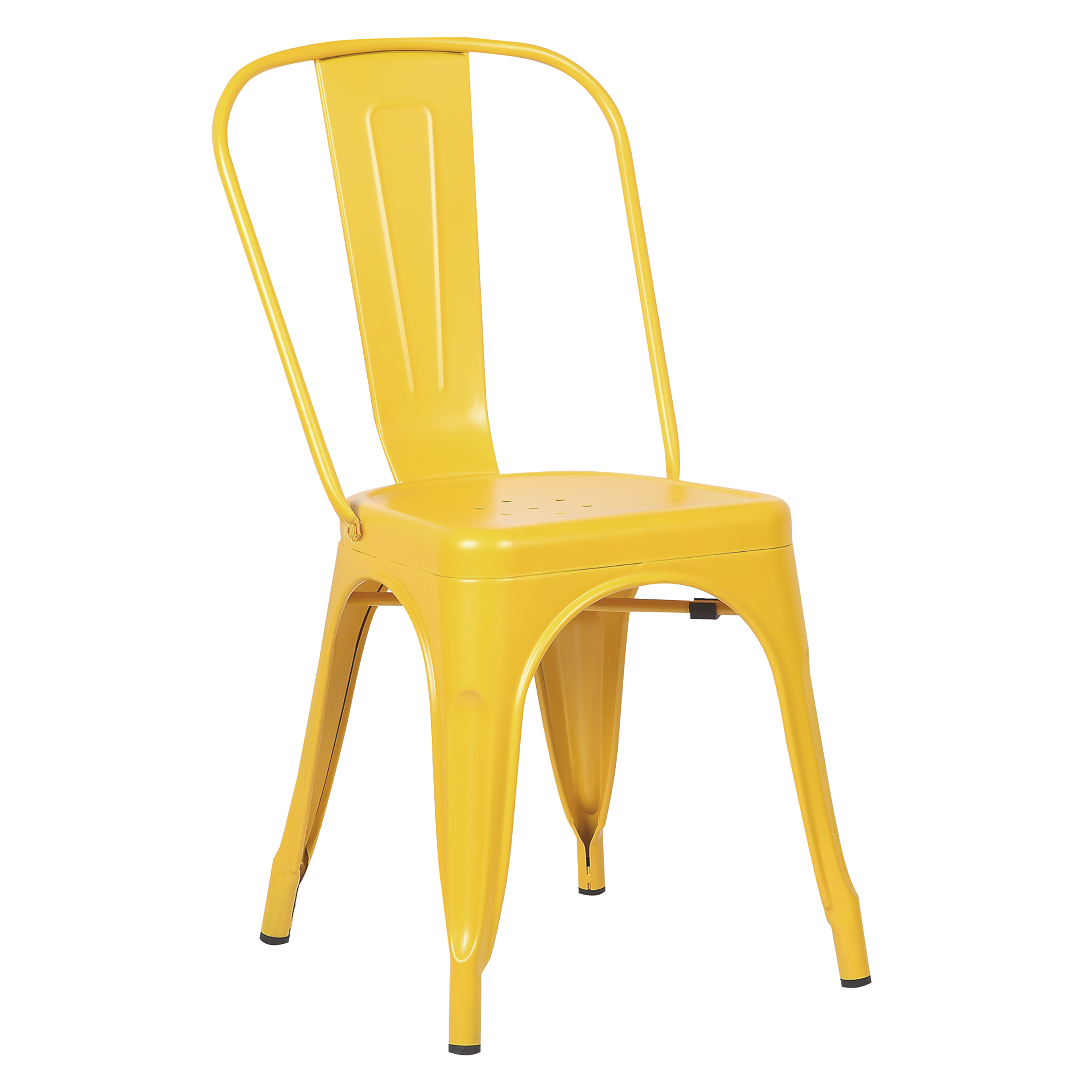 Poly and Bark Trattoria Side Chair in Black