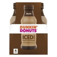 Dunkin' Donuts Iced Coffee & Milk Beverage Coffee, 9.4 FL OZ