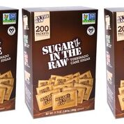 3-Pack Sugar In The Raw Turbinado Cane Sugar, Pack Contains 600-4.5g packets