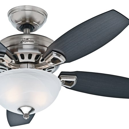 """Hunter Fan 44"""" Ceiling Fan without a Light and 5 Cherried Walnut Reversible Blades (Certified Refurbished)"""