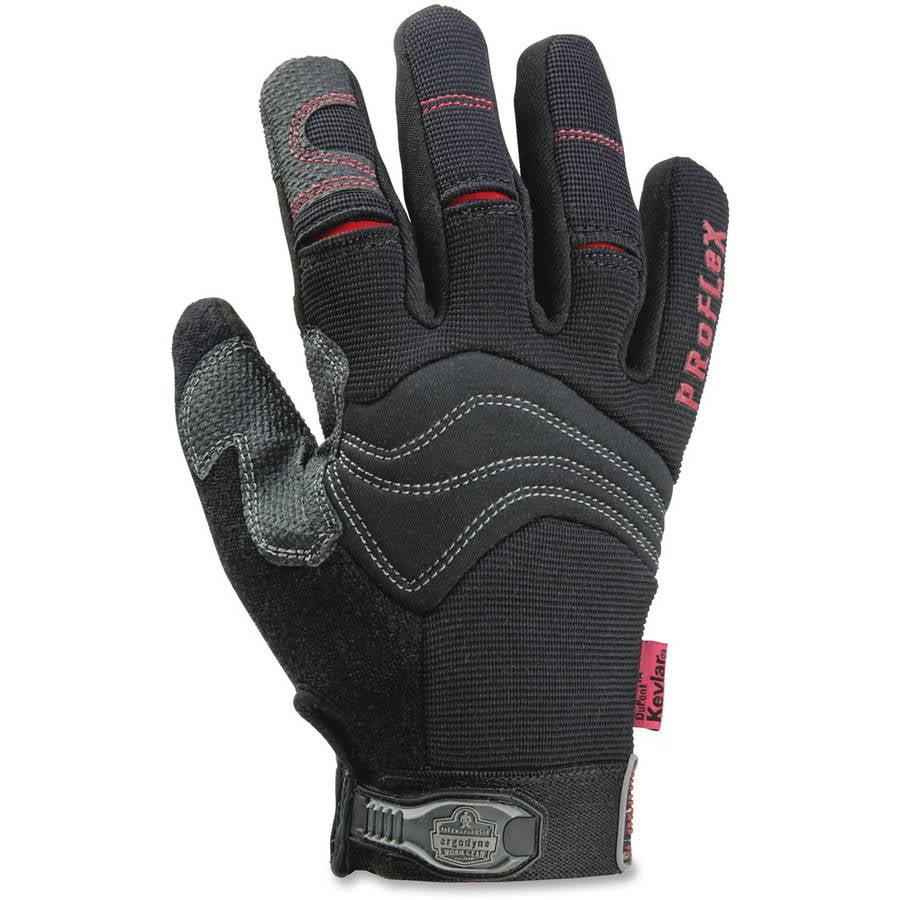 ProFlex 820CR Cut Resistant PVC Handler Gloves, Black