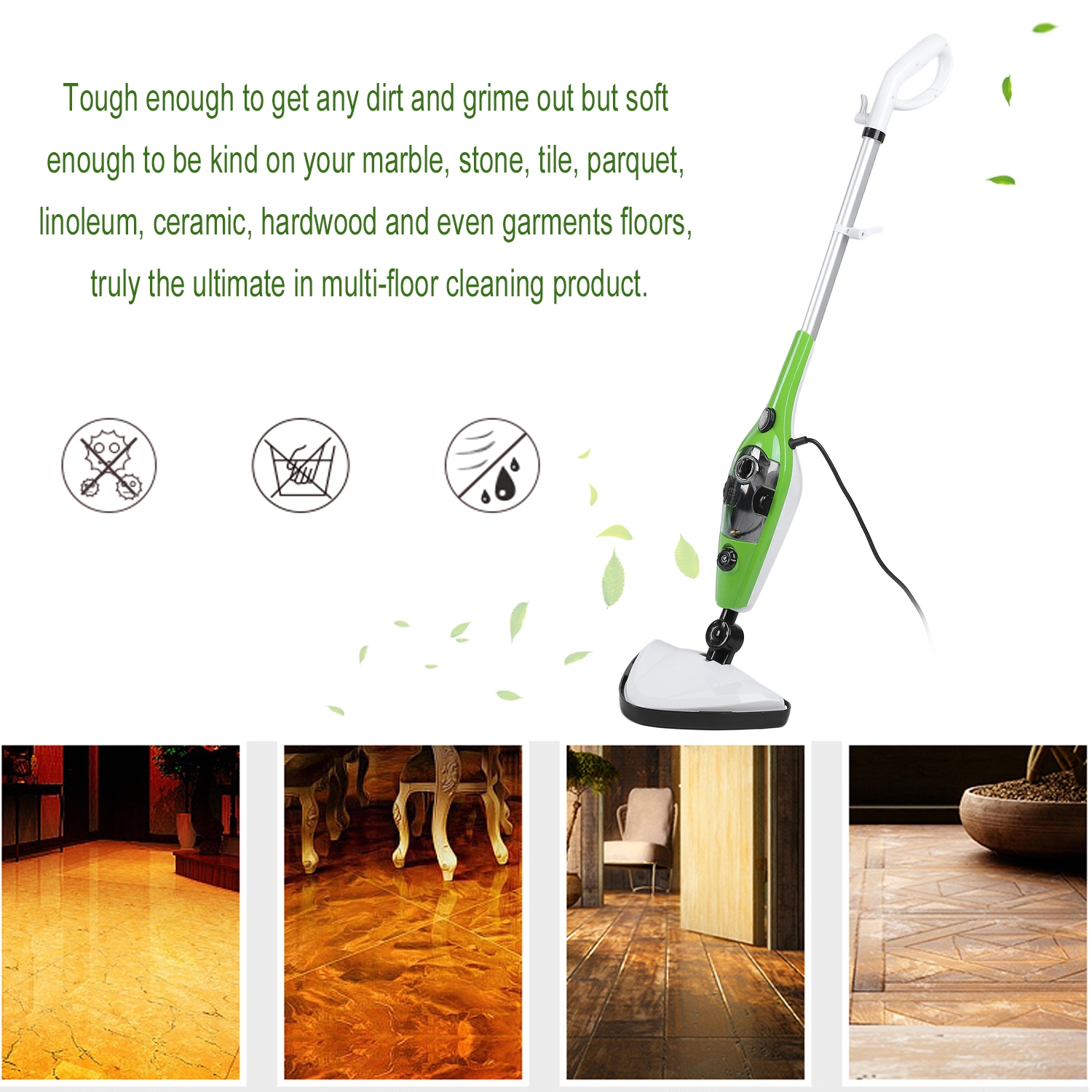 CNMODLE 10 In 1 Multifunctional Steam Mop Cleaner Cleanin...