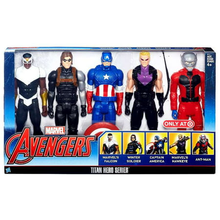 Falcon, Winter Soldier, Captain America, Hawkeye & Ant-Man 12 Inch Action Figure