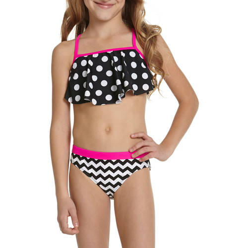 OP Girls' Geo Cool Bikini Swimsuit