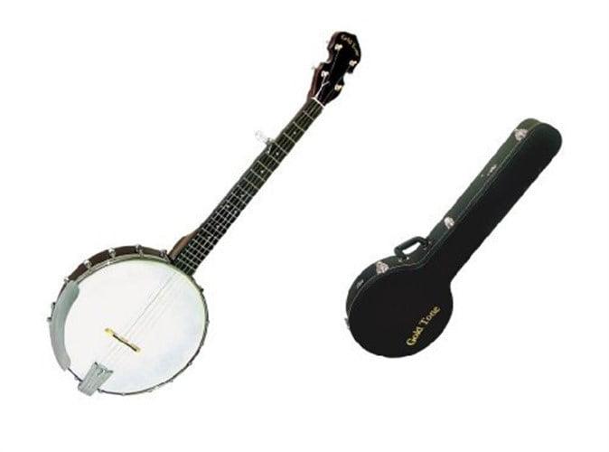 Gold Tone 5-String Travel Banjo w  Hard Case by Gold Tone