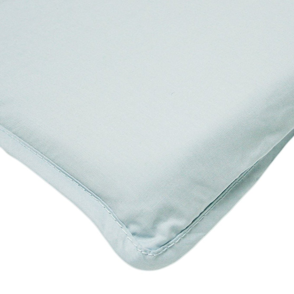 Arm's Reach Mini Co-Sleeper 100% Cotton Fitted Sheet - Baby Blue