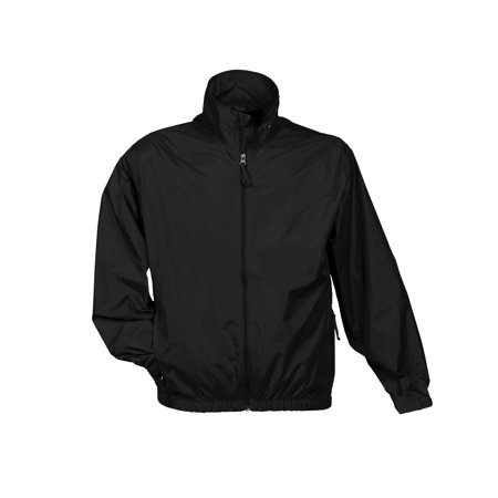 Tri-Mountain Atlas 1700 Unlined nylon jacket, 2X-Large, Black