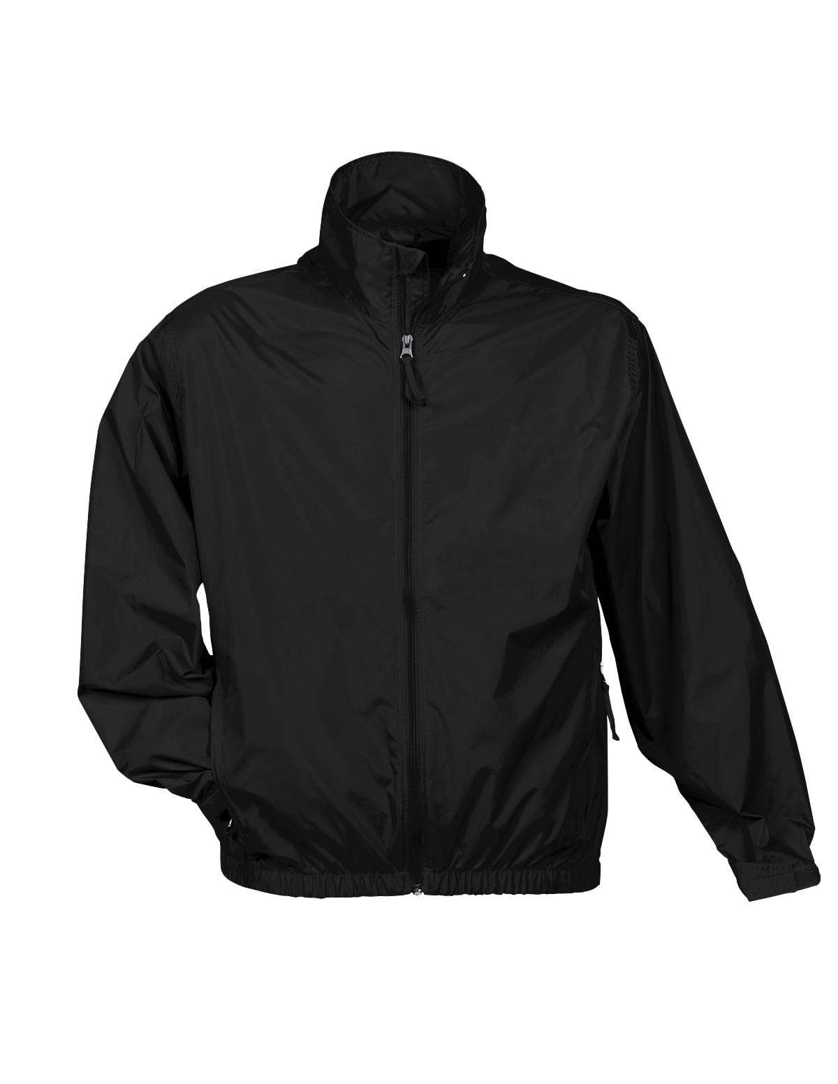 Tri-Mountain Atlas 1700 Unlined nylon jacket, 2X-Large, Black