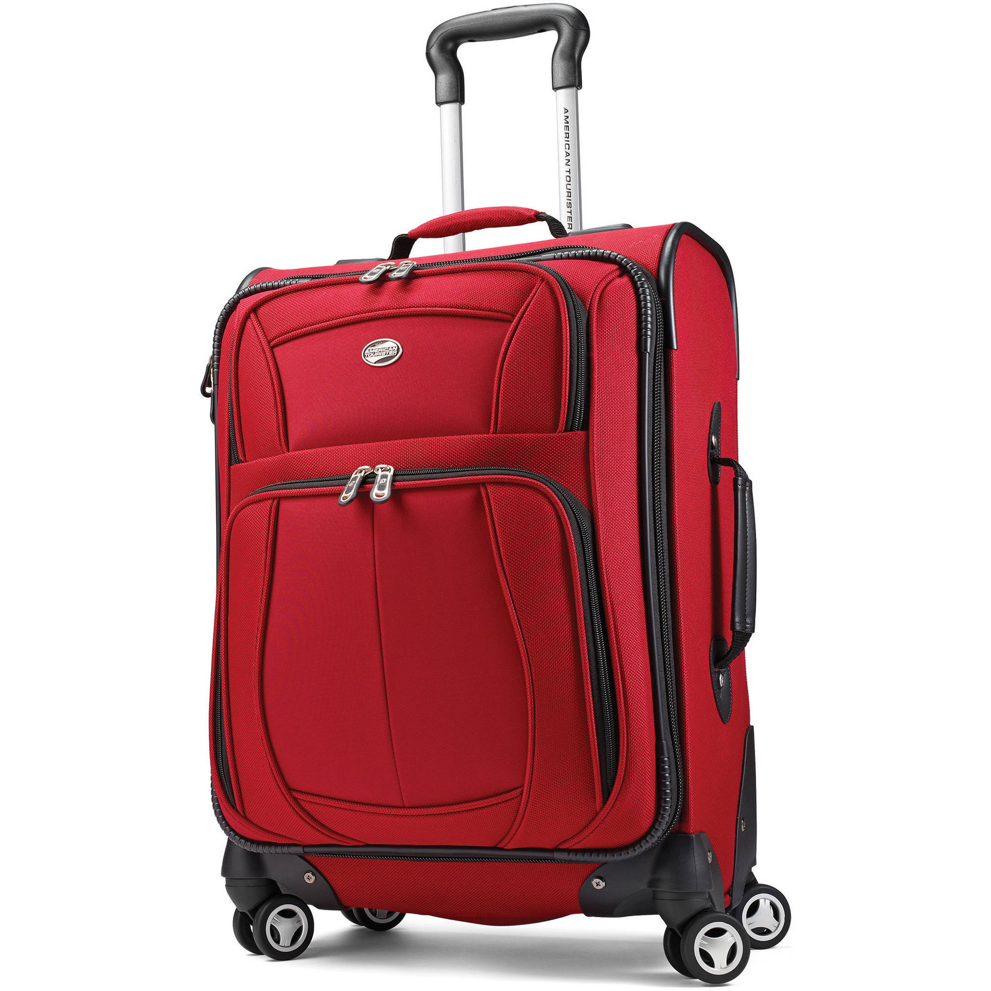 American Tourister Meridian 360 XLT Upright Spinner - Red