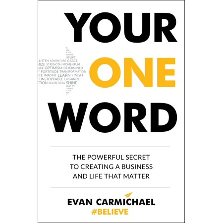 Your One Word : The Powerful Secret to Creating a Business and Life That Matter - Halloween Words That Start With A G