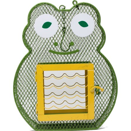 Heath Mfg Co P-Frog Suet And Seed Feeder- Green